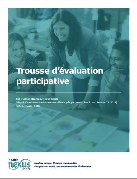 "Couverture de la ressource ""Trousse d'évaluation participative"""